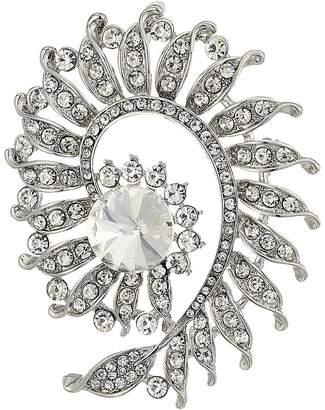 Nina Floral Swirl Pin Brooches Pins