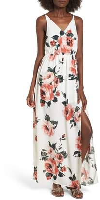 BP Floral Print Maxi Dress