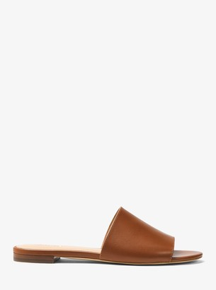 MICHAEL Michael Kors Shelly Leather Slide