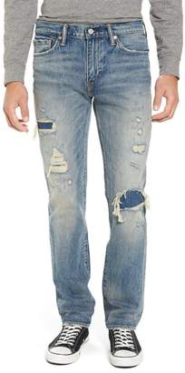 Levi's Distressed Slim Fitting Jeans