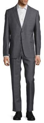 Armani Collezioni Textured Wool Suit