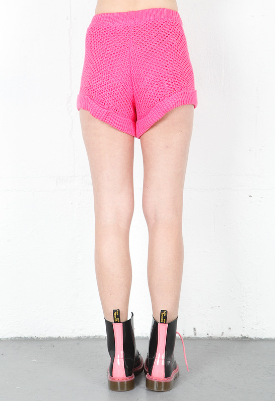 Style Stalker Moon Base Shorts in Pink