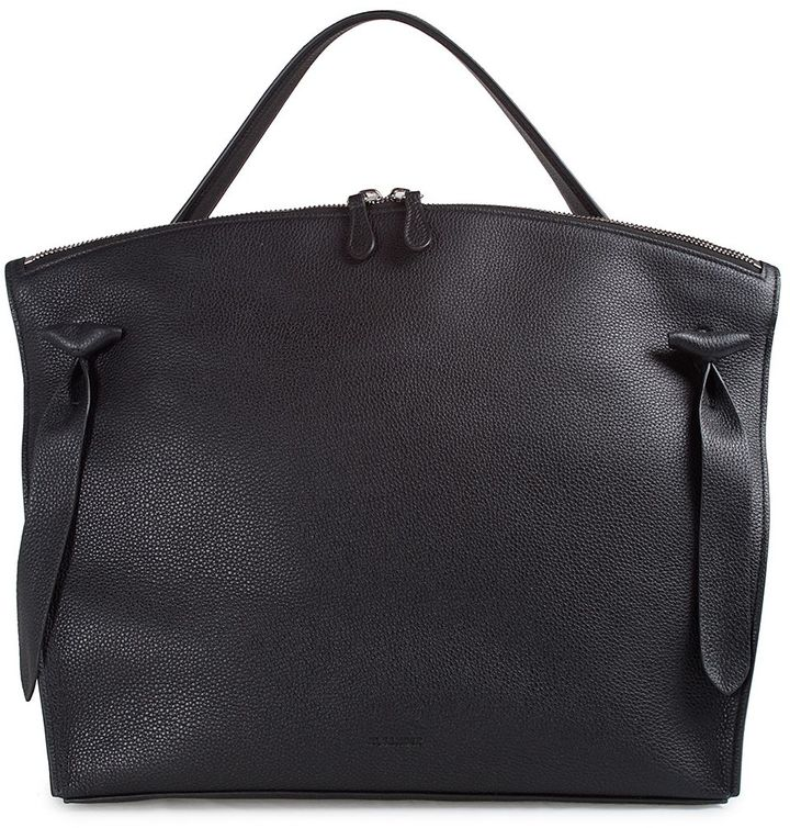 Jil Sander Jil Sander Hill Medium Leather Tote