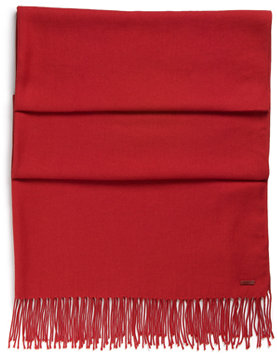 Viscose Blend Solid Scarf by HUGO
