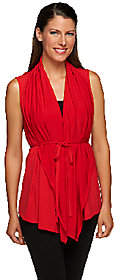 Joan Rivers Classics Collection Joan Rivers 4-in-1 Knit Vest with removable