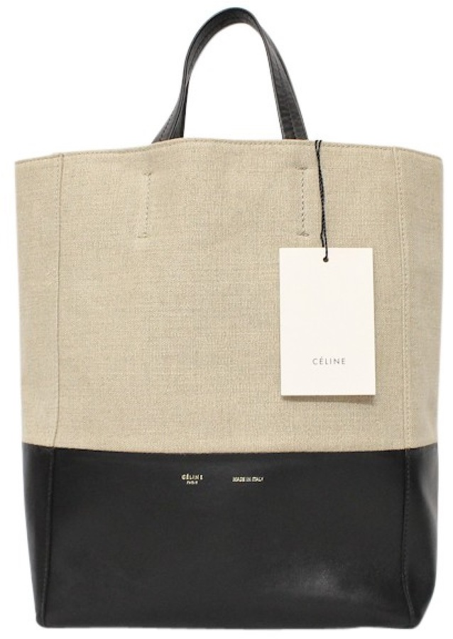 CelineCabas leather handbag