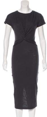 AllSaints Jersey Midi Dress w/ Tags