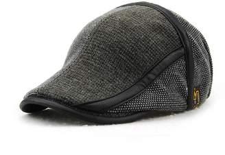 eb0795a287a66 JAMONT Men s Beret Hat Knitted Woollen Casquette Flat Visor Newsboy Peak Cap