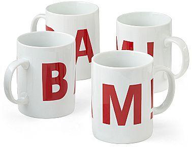Emerilware Emeril® Bam! Set of 4 Coffee Mugs