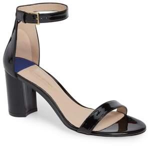 Stuart Weitzman 75LESSNUDIST Ankle Strap Sandal