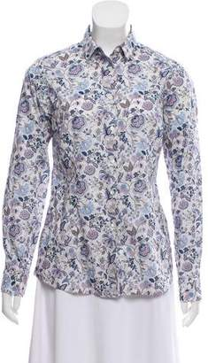 Liberty of London Designs Printed Button-Up Top