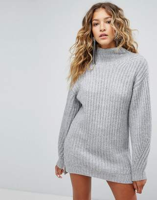 Miss Selfridge Turtleneck Sweater Dress