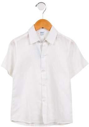Babiene Boys' Linen Button-Up Shirt w/ Tags