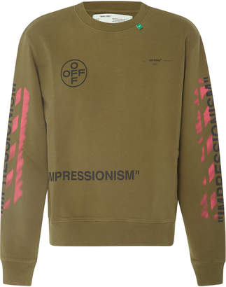 Off-White Printed Long Sleeve T-Shirt