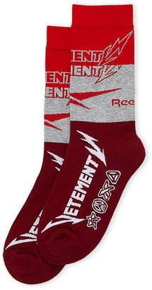 Vetements x Reebok Metal Logo Intarsia Socks