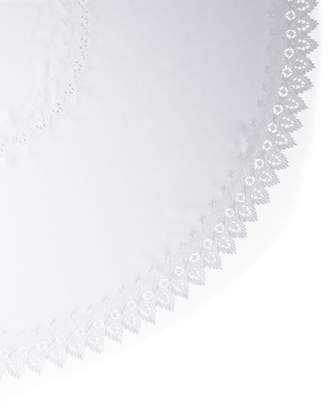 "Sferra Zella 90"" Round Tablecloth & 12 Napkins"