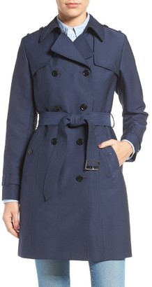Women's Cole Haan Military Trench Coat $400 thestylecure.com