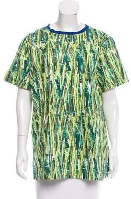 Stella Jean Printed Short Sleeve Top