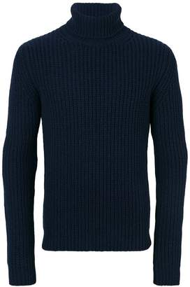MSGM turtleneck ribbed jumper