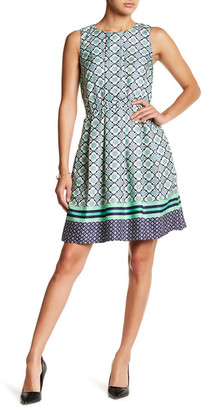Donna Morgan Sleeveless Pleated Dress $138 thestylecure.com