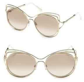 Roberto Cavalli 58MM Cat Eye Sunglasses