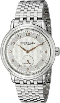 Raymond Weil Men's 2838-S5-05658 Maestro Analog Display Swiss Automatic Watch