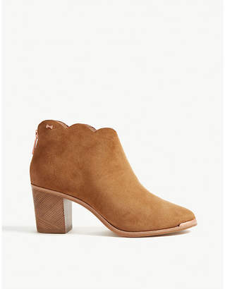 Ted Baker Joanie suede heeled ankle boots