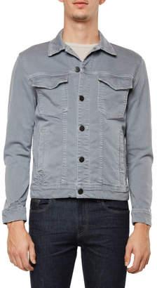 J Brand Gorn Jacket In Distressed Gypsum