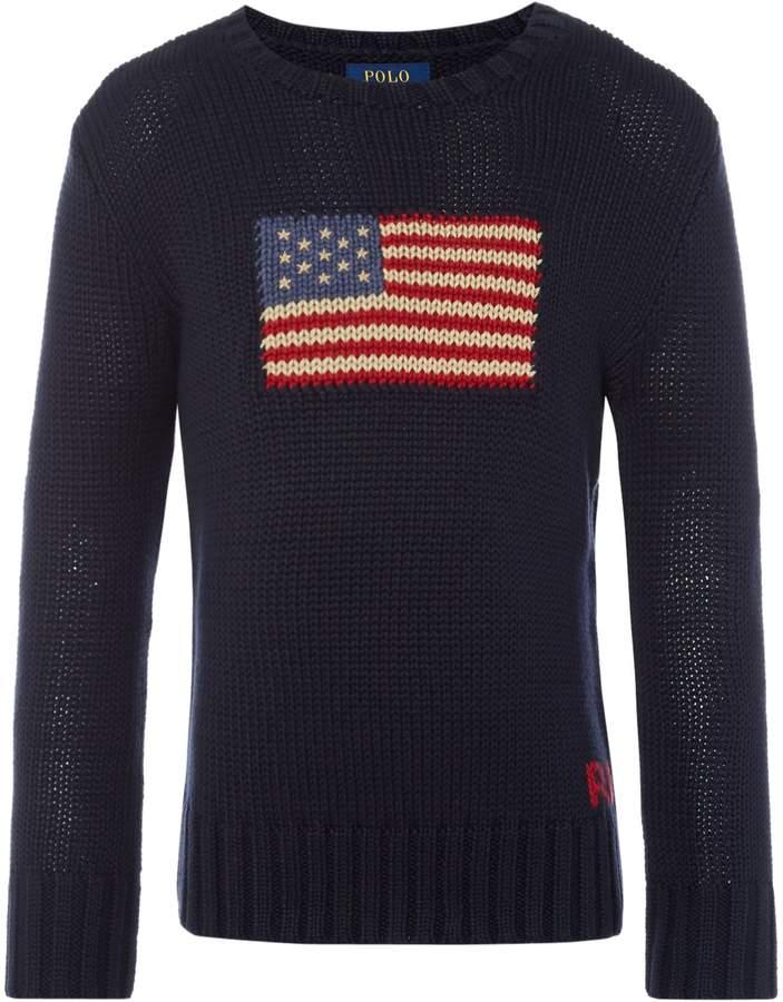 Boys American Flag Jumper