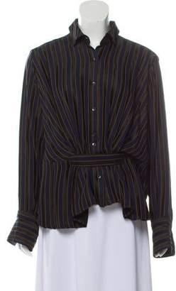 Palmer Harding palmer//harding Striped Oversize Top