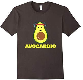 Avocardio shirt Avocado workout health tee shirt fun cardio