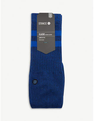 Stance Cushioned cotton-blend socks