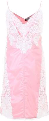 Calvin Klein Slip Dress With Lace