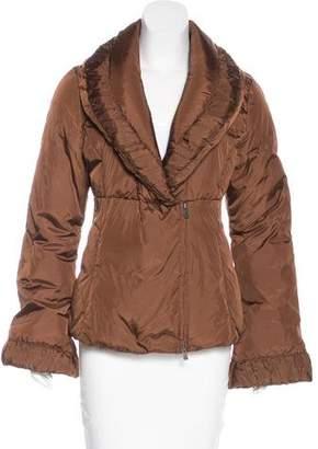 Armani Collezioni Double-Breasted Down Jacket