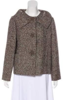 Oscar de la Renta Alpaca Tweed Jacket