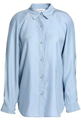 Frame Silk-Satin Shirt