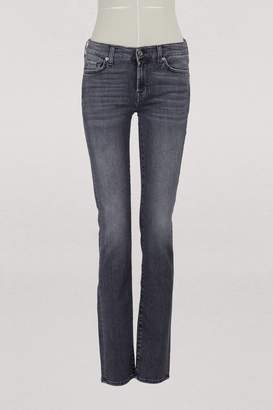 SLIM ILLUSION MOMENT Roxanne mid-rise jeans
