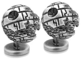 Star Wars STARWARS 3D Death Star Cuff Links