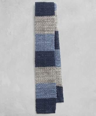Brooks Brothers Golden Fleece Multi-Stripe Knit Tie