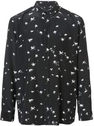 Givenchy 4G splatter print shirt