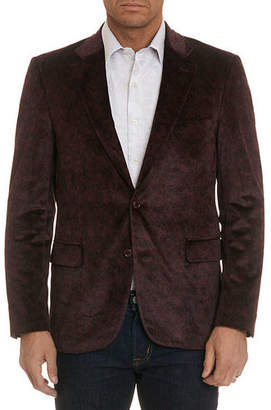 Robert Graham Barton Jacquard Two-Button Jacket