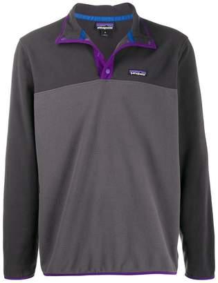 Patagonia split-tone pullover sweatshirt