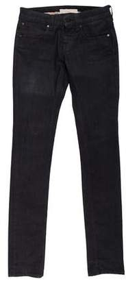 Stella McCartney Straight-Leg Mid-Rise Jeans