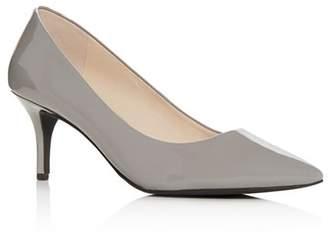 Cole Haan Women's Marta Pointed-Toe Mid-Heel Pumps