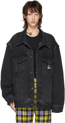 Ambush Black Denim Oversized Nobo Jacket