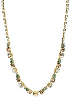 Sorrelli Faceted Glass Stations Necklace, 15""