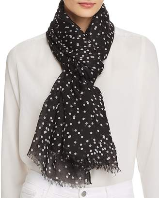 Aqua Confetti Dot Scarf - 100% Exclusive