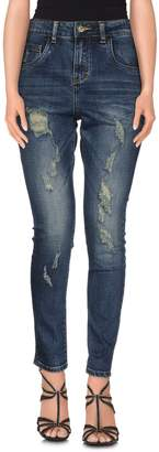 Manila Grace DENIM Denim pants - Item 42500268UR