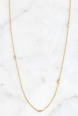 Tai Gold Alphabet Necklace L