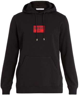 Givenchy Cuban-fit hooded cotton sweatshirt